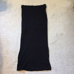 High waisted with side open skirt